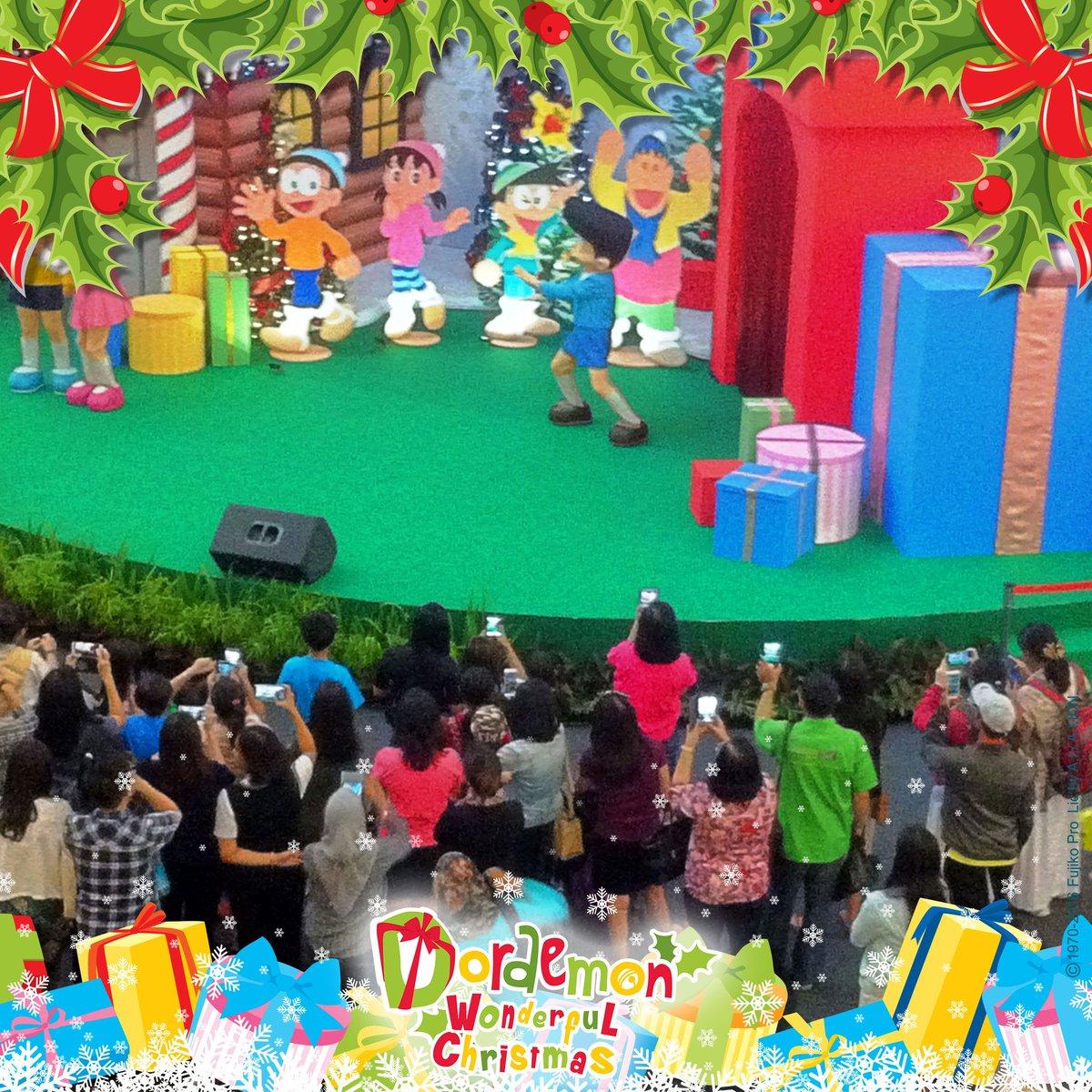 Ayo segera berkumpul di The Forum MKG 3!  Kalian bisa bertemu dengan Doraemon & Teman-Teman, loh!  #ILoveDoraemon #DoraemonIndonesia https://t.co/o8y1Do5QXG