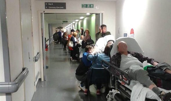 In this queue, you may not believe the Tory promise of 'the safest & most compassionate health service in the world' https://t.co/mHi9kgc8cW
