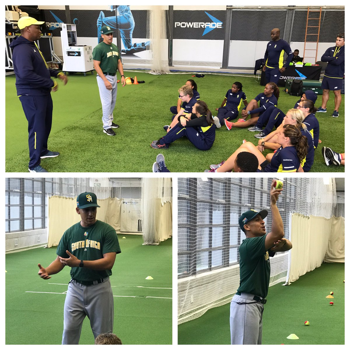 The @Momentum_za Proteas preparing for the tour of Bangladesh with @cgravenorst1208,S and C Consultant at ML Baseball for SA #COE #fielding <br>http://pic.twitter.com/7UYgkC9WPZ