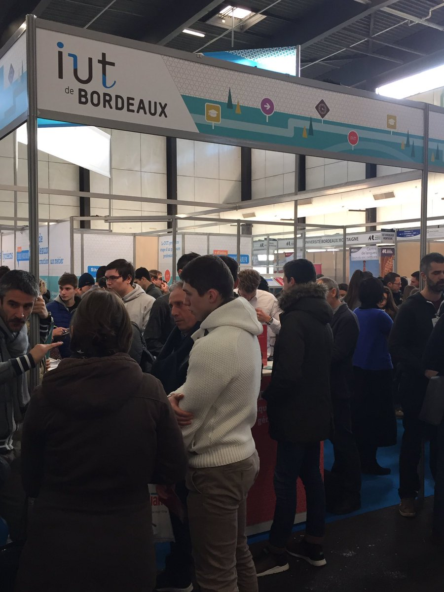 Universit bordeaux univbordeaux twitter for Salon de l etudiant bordeaux