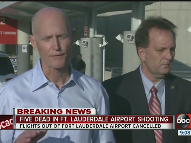 Gov. Scott: Ft Lauderdale airport reopens, shooting investigation continues