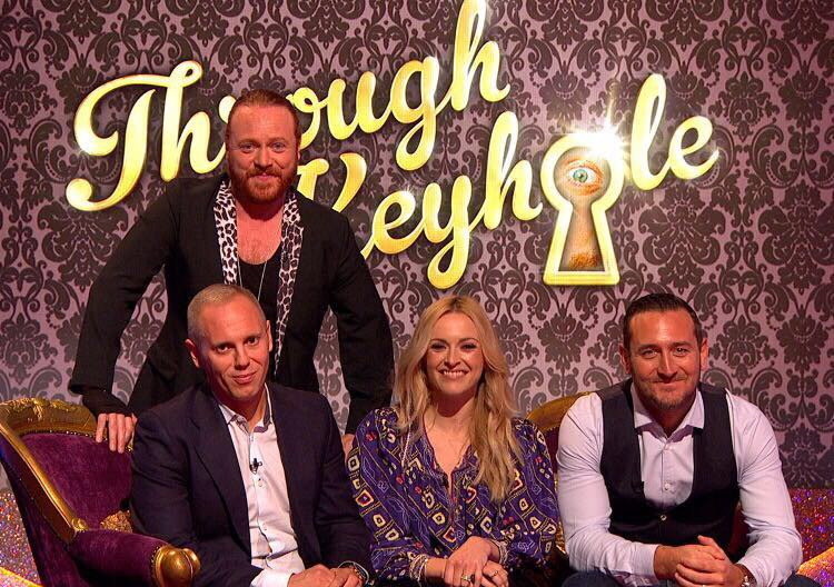 On Key Hole tonight with my dear mate @lemontwittor and these chaps! @ITV 💥 https://t.co/QyUHvgQbQj