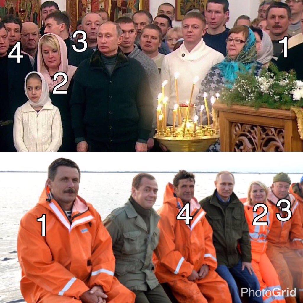 Путин опять «неожиданно» встретился с рыбаками