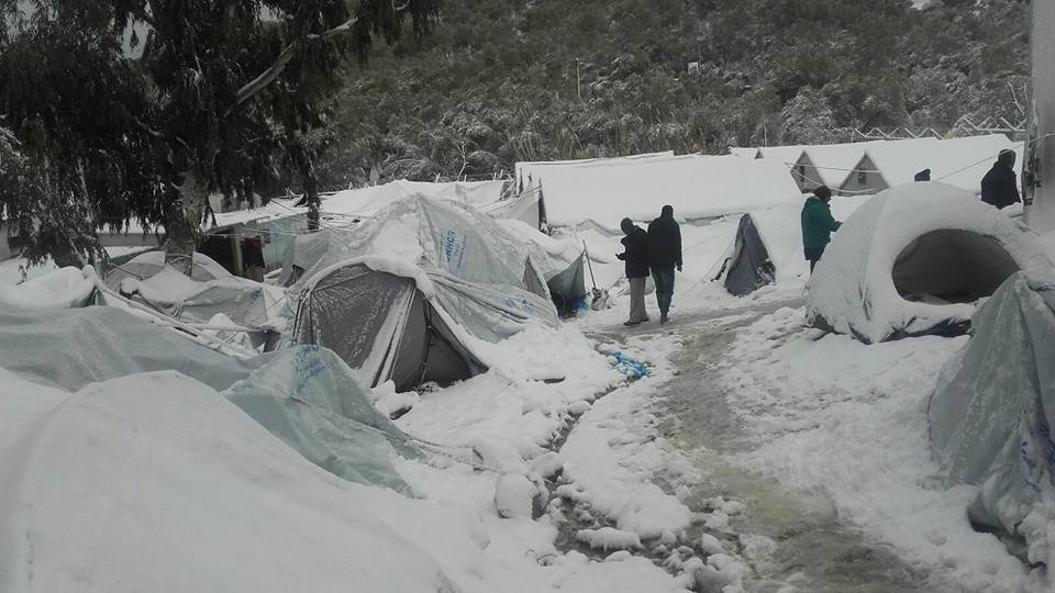 Thumbnail for Freezing Refugees in Europe; FIFA & Israeli Settlement Clubs: HRW Daily Brief