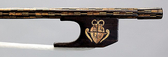 This ca. 1700 King Charles IV #Violin Bow is attributed to Stradivari, one of only two surviving #Stradivarius bows.  http://www. BenningViolins.com  &nbsp;  <br>http://pic.twitter.com/KwzXJNEsnS