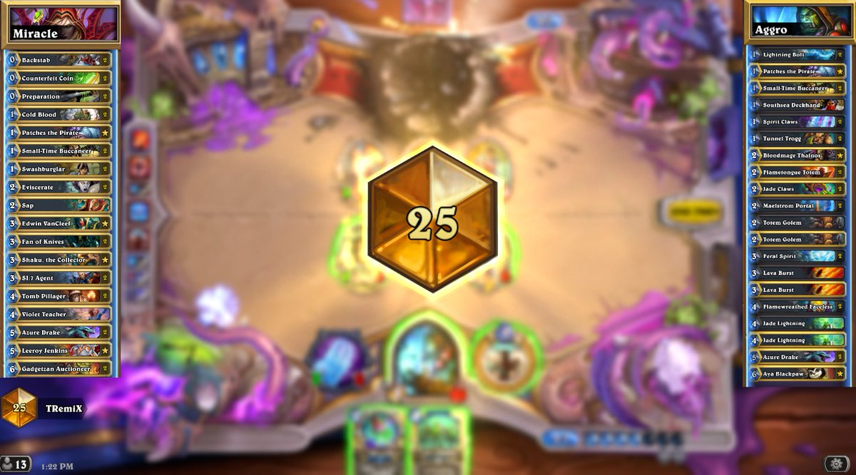 Best grind to Legend so far 💪 Shaman and Rogue were pretty insane in this run