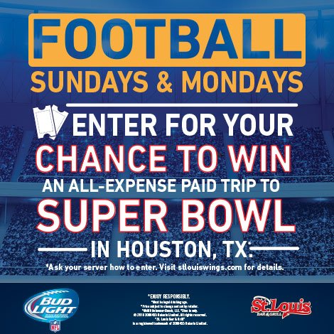 Only a few weeks left to enter - You could #WIN tickets to Super Bowl, click here to enter  https://t.co/tjZyA5tHko https://t.co/2R7Y72Z6nT