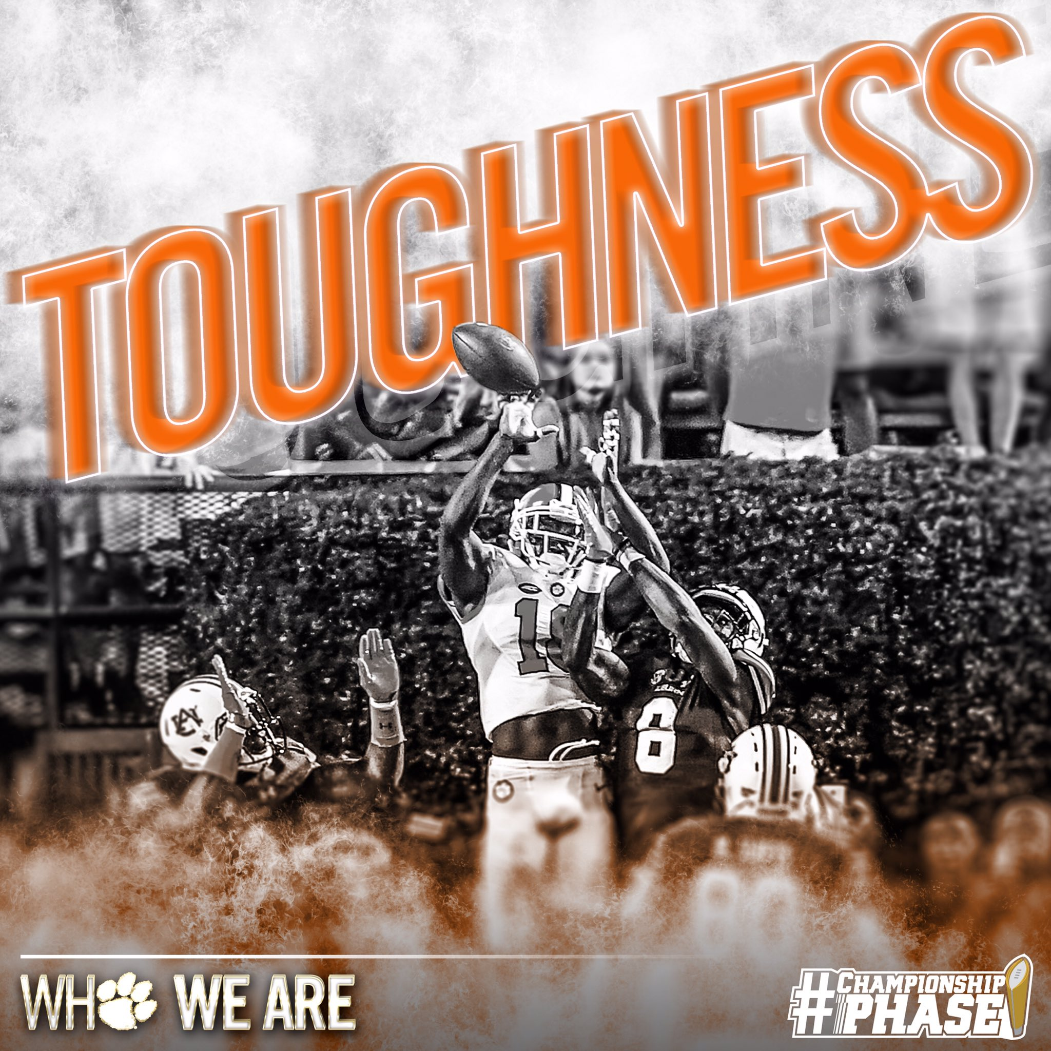 Who We Are || Defining a Clemson Tiger  It won't be easy...do you have the physical & mental toughness to persevere?  (Pictured: 9/3 at AUB) https://t.co/bMiwtMjaJd