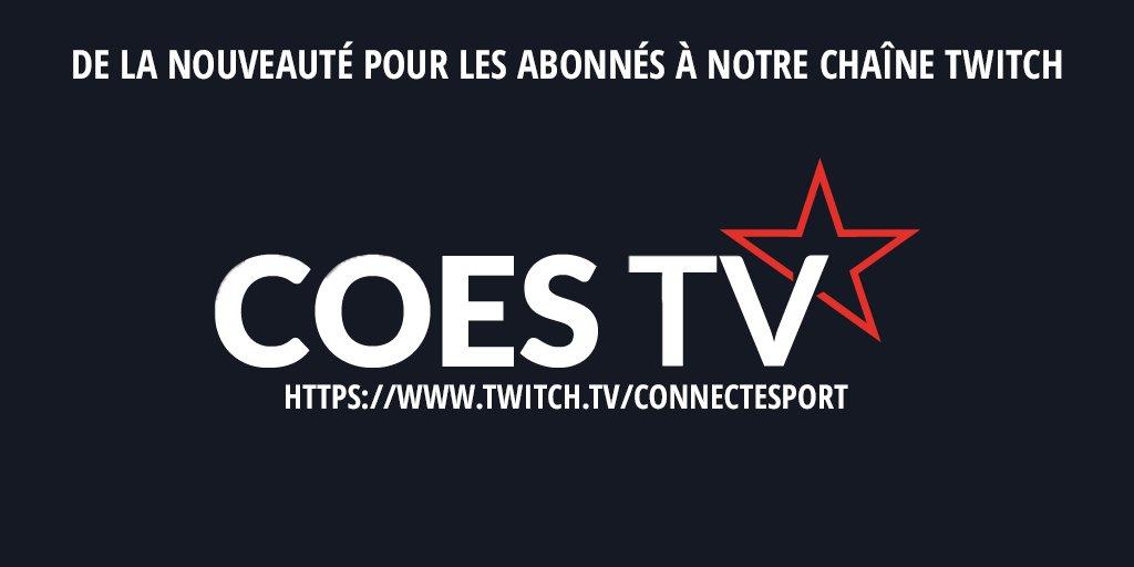 De la nouveauté pour les abonnés de la #coestv !  Plus d&#39;informations   https://www. connectesport.com/breve/coes-giv eaway-abonnes-coestv/ &nbsp; …    #giveaway #NouvelAn2017 #esport #stream<br>http://pic.twitter.com/8XbWOCfNR4