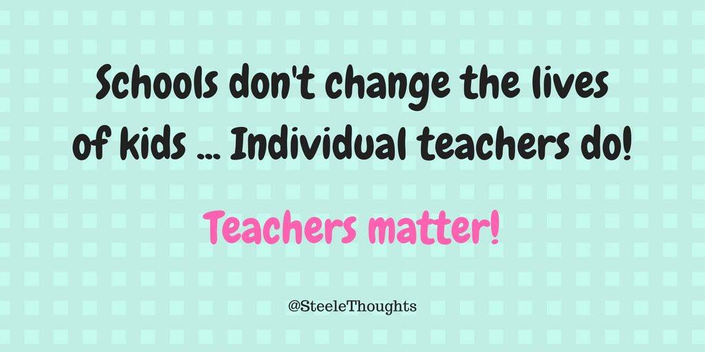 Image result for teachers matter
