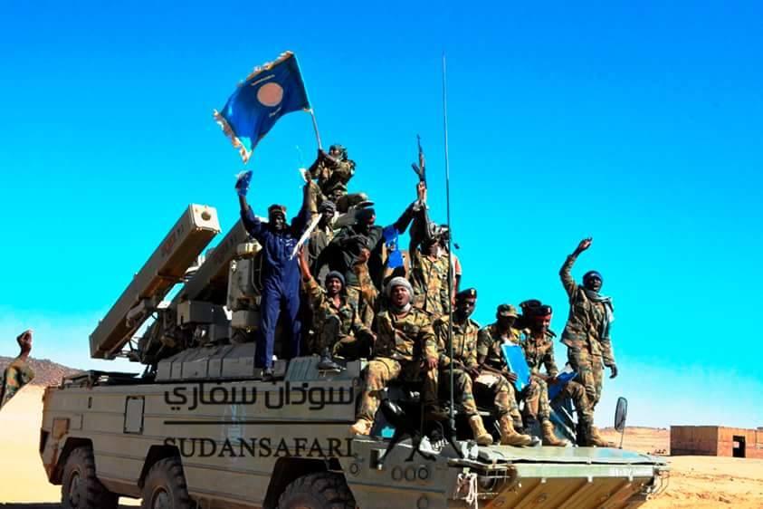 الرئيس السوداني يؤكد على مضي بلاده لبناء أقوى جيش في المنطقة C1lPQmbW8AE4Wxc