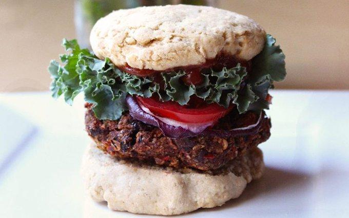 Raw Sun-Dried Tomato Burgers [Vegan, Gluten-Free]