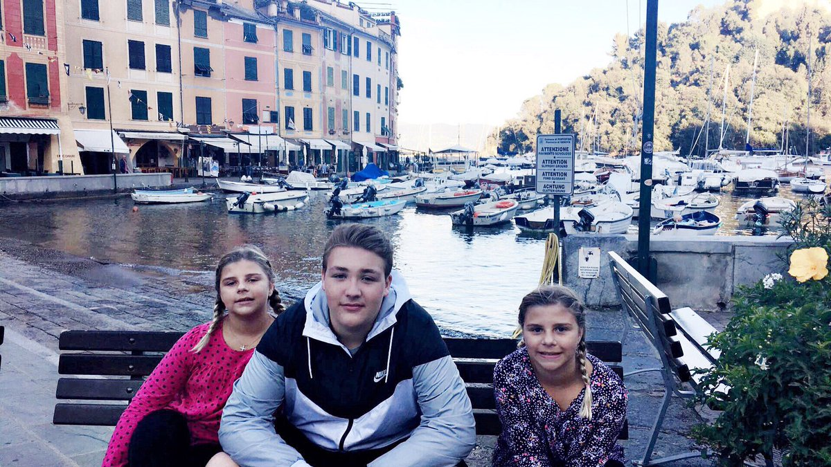 My babies in #portofino  #singlemomglobetrotter @smglobetrotter #travel #singlemom<br>http://pic.twitter.com/8byx1l06Gd