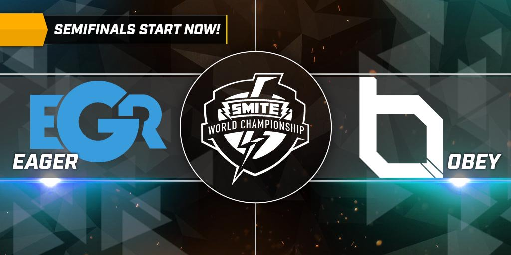 Partido 1 Obey Alliance vs Team Eager