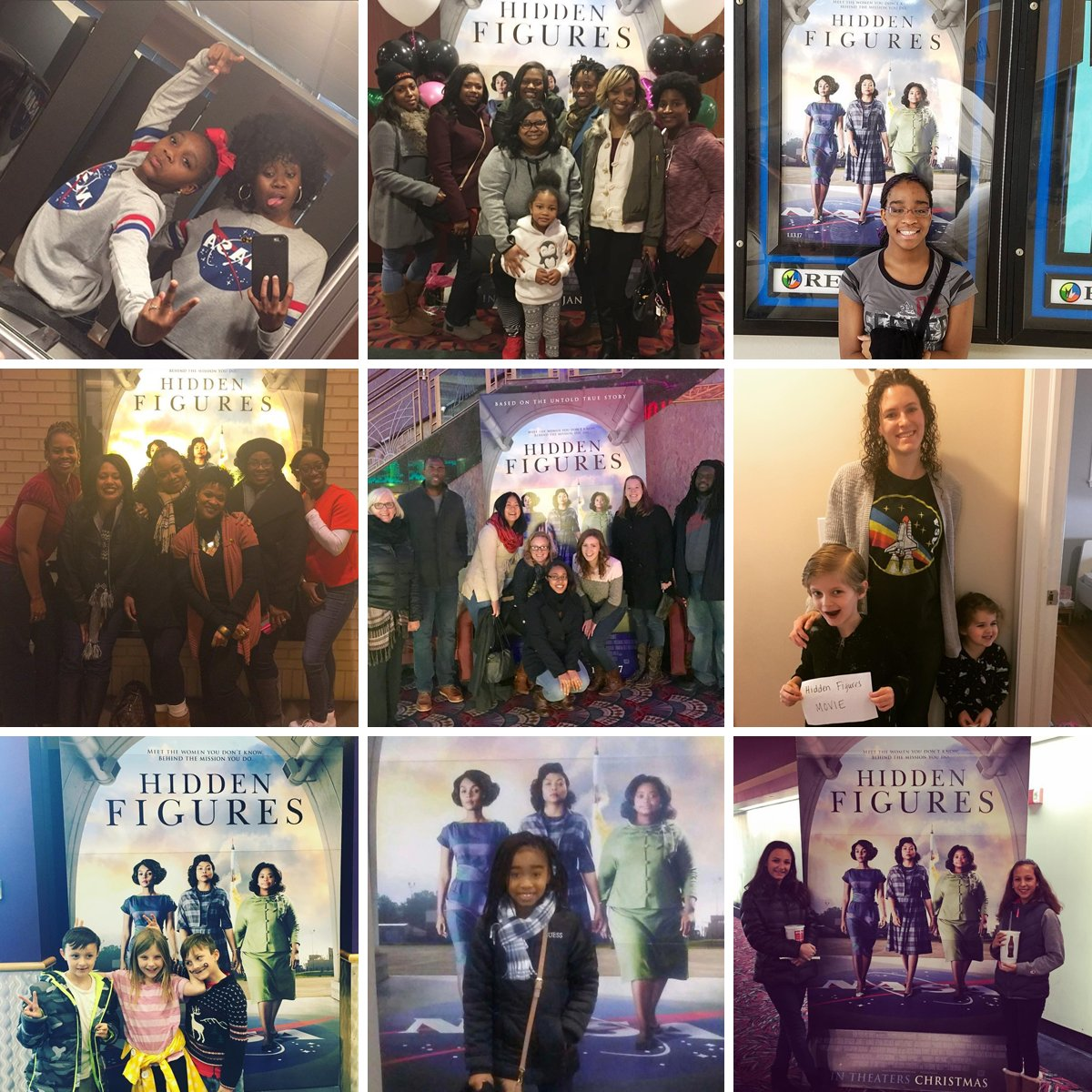 Thank you to everyone supporting #HiddenFigures🚀 and seeing it in theaters this weekend! Keep sending us your pictures using #HiddenFigures! https://t.co/YvPV4IPCec