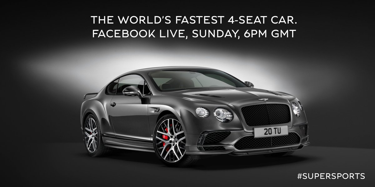 See the Facebook LIVE unveiling of #Supersports, Sunday 6pm GMT. Signup to RSVP: