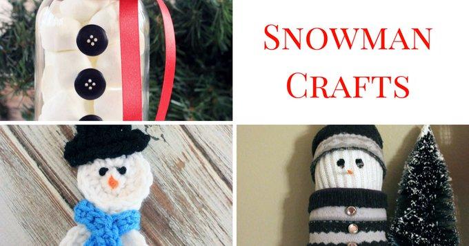 20 Snowman Crafts
