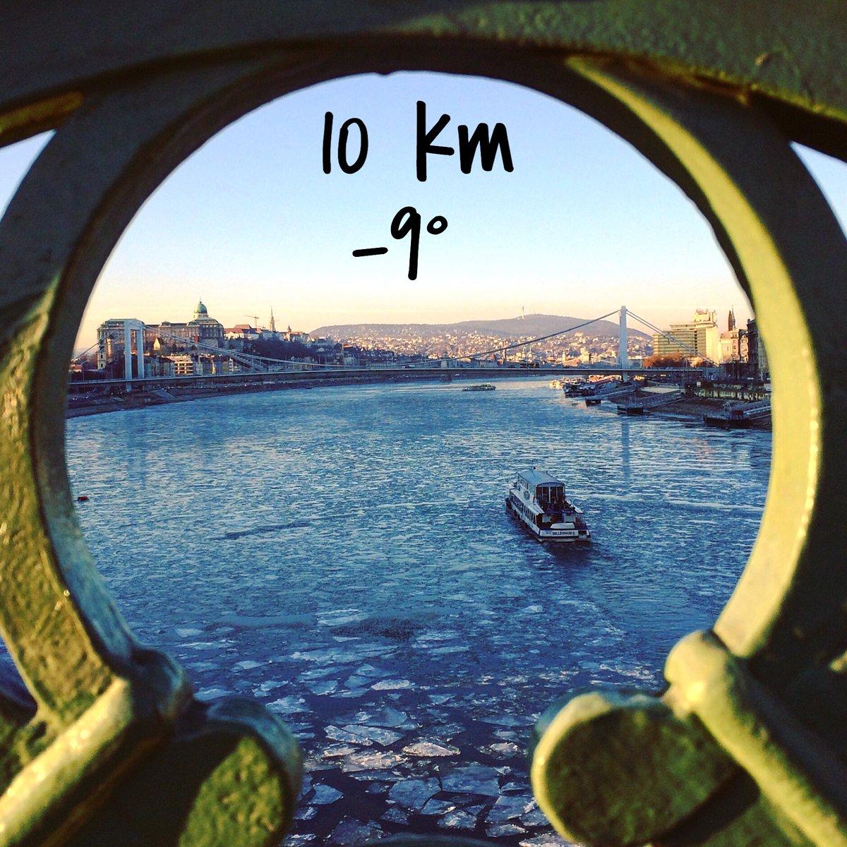 Aujourd&#39;hui, petit #run de 10km par -9° ️ #budapest #danube #courseapied #running #hiver<br>http://pic.twitter.com/jIbu9VwCwA