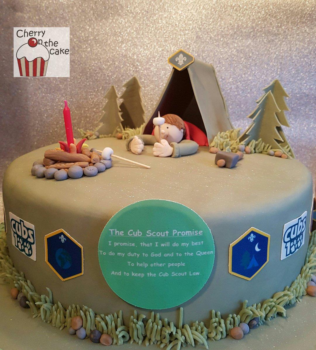 Cubs 100 birthday cake