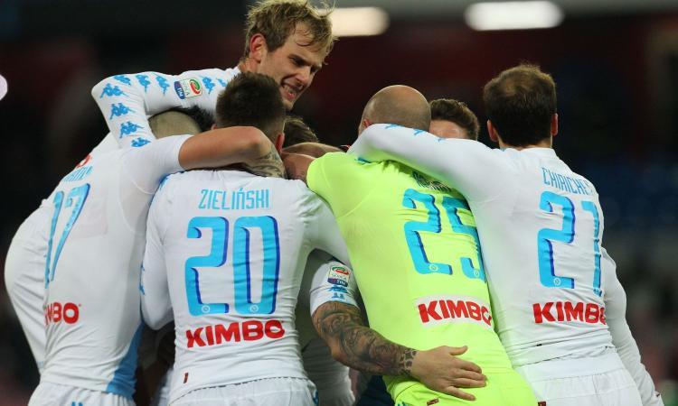 Napoli-Sampdoria finisce 2-1: Risultato in rimonta ottenuto all'ultimo secondo