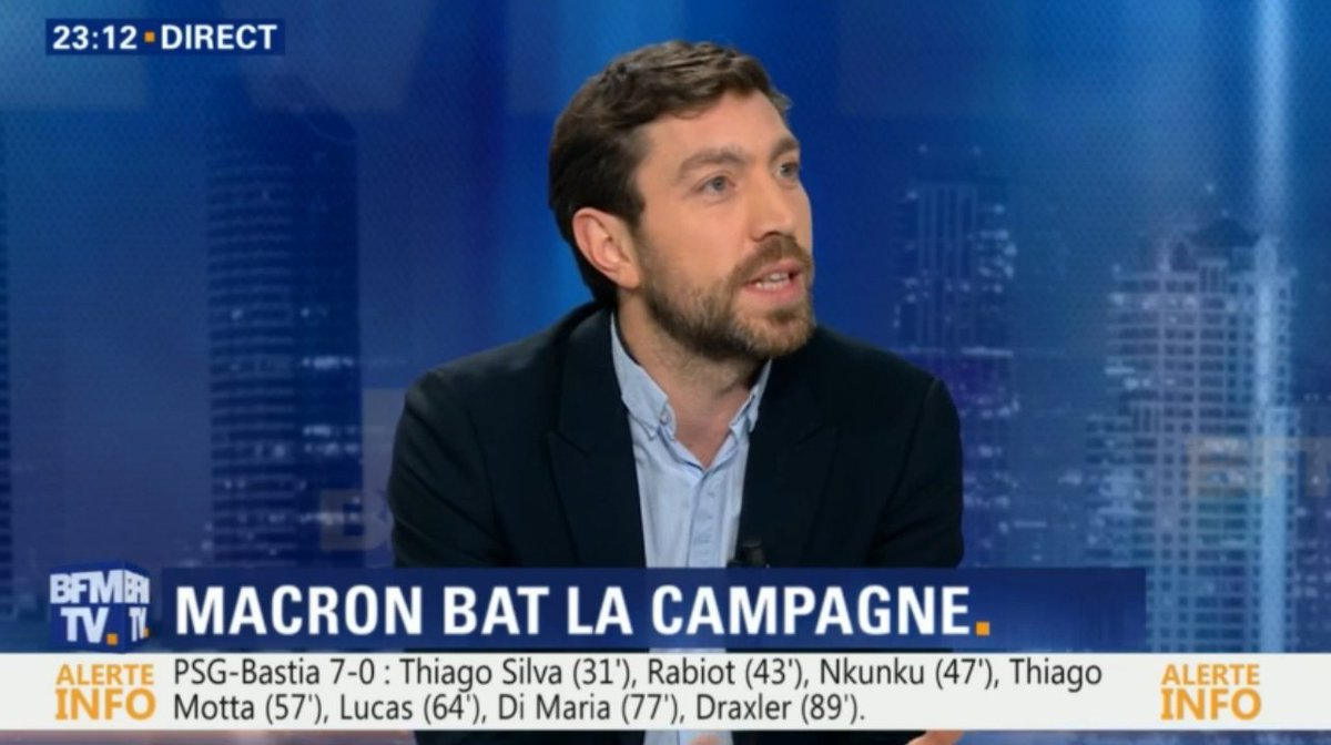 &quot;#Macron, c&#39;est du pur opportunisme. Il peut dire tout et son contraire dans la même phrase.&quot; @LudovicPiedtenu sur @BFMTV<br>http://pic.twitter.com/5i6OCnrI9e