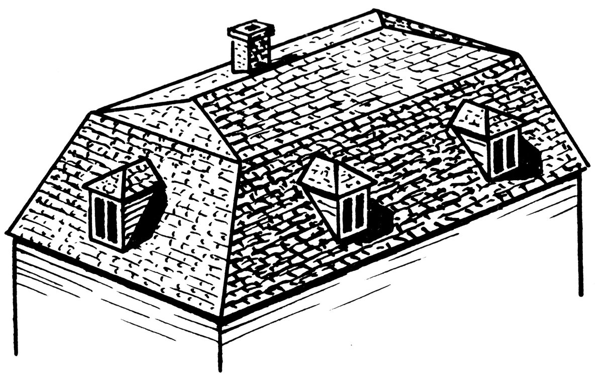 #Roof Style-The mansard roof is a french design and is harder to construct than the hip or gable roof   http:// local-roof.com  &nbsp;    #roofingtips<br>http://pic.twitter.com/IvSwNxtKHC