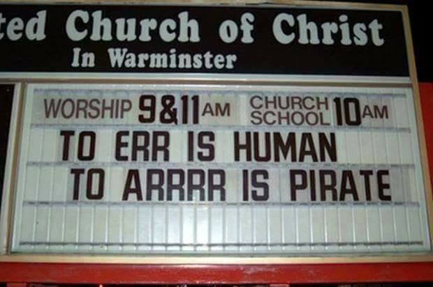 Church Sign of the Week! https://t.co/UpOXAXGzRn