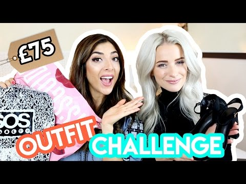 £75 OUTFIT CHALLENGE with InTheFrow!