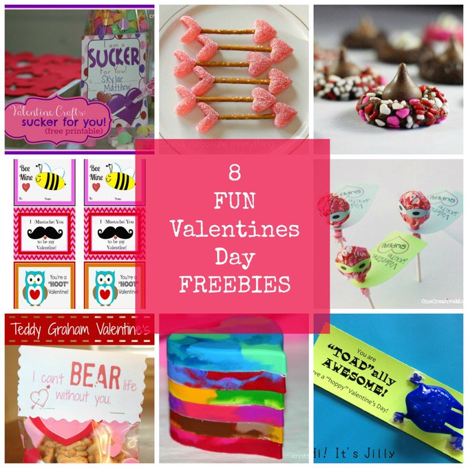 8 free Valentine printables for kids -