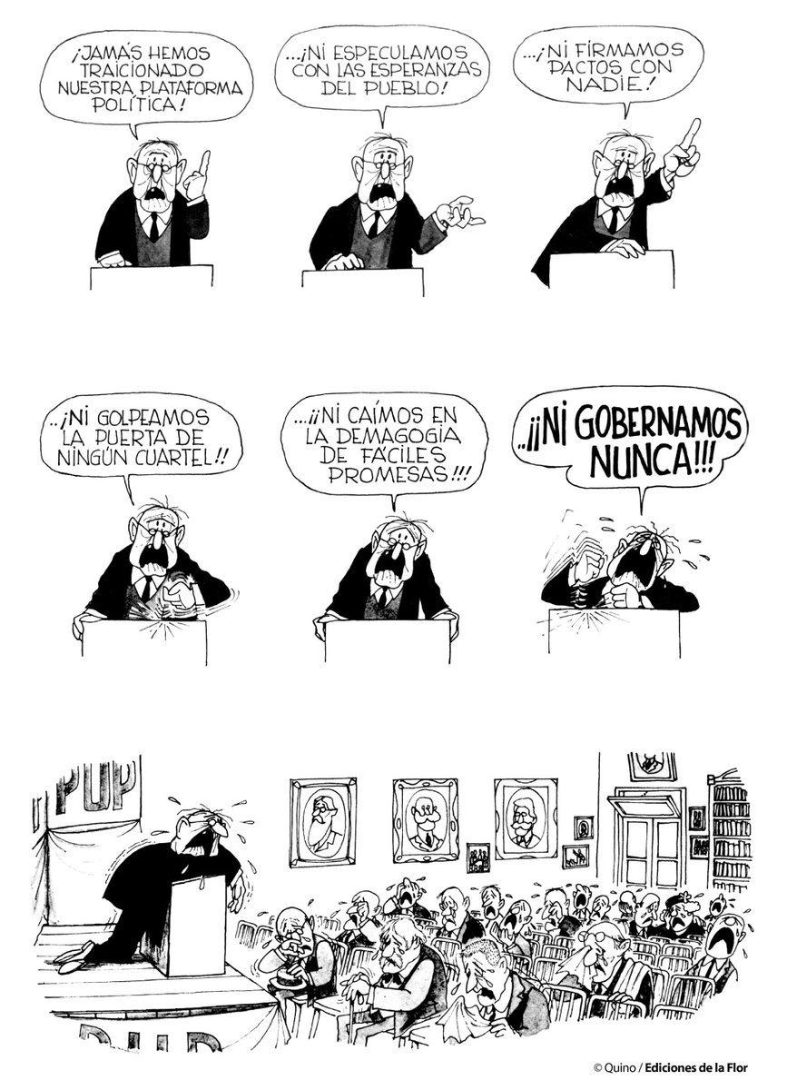 """Jorge Heine on Twitter: """"Un político como pocos... por Quino v ..."""