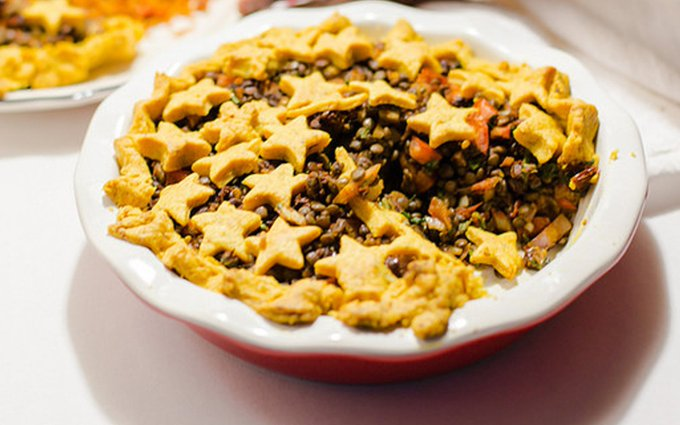 Savory Lentil Pie [Vegan]