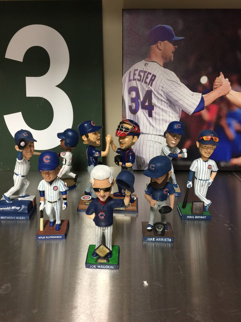 Happy #NationalBobbleheadDay #Champs https://t.co/UwK8N0BKk4