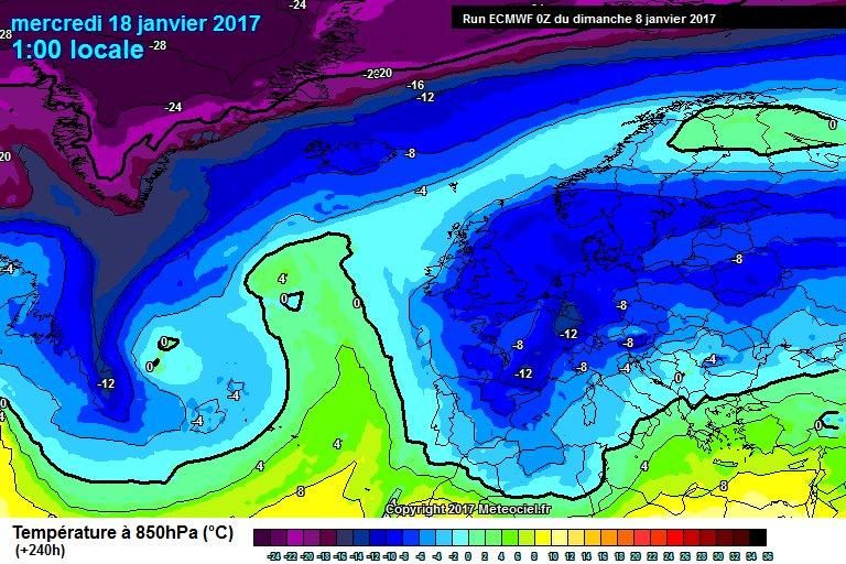 #climat Les modèles semblent confirmer (pour l&#39;instant) l&#39;arrivée d&#39;une bombe froide sur toute l&#39;Europe en fin de semaine prochaine. <br>http://pic.twitter.com/KfkLzvul8K