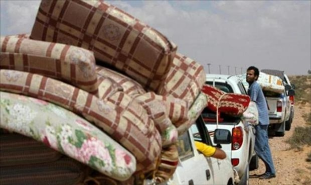MIlitary Source: 150 families have who escaped Sirte during the ISIS takeover have returned in the few last days