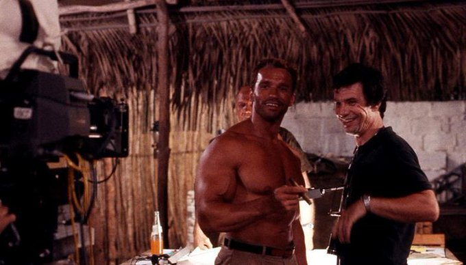 Happy birthday to director John McTiernan, seen here w/ film