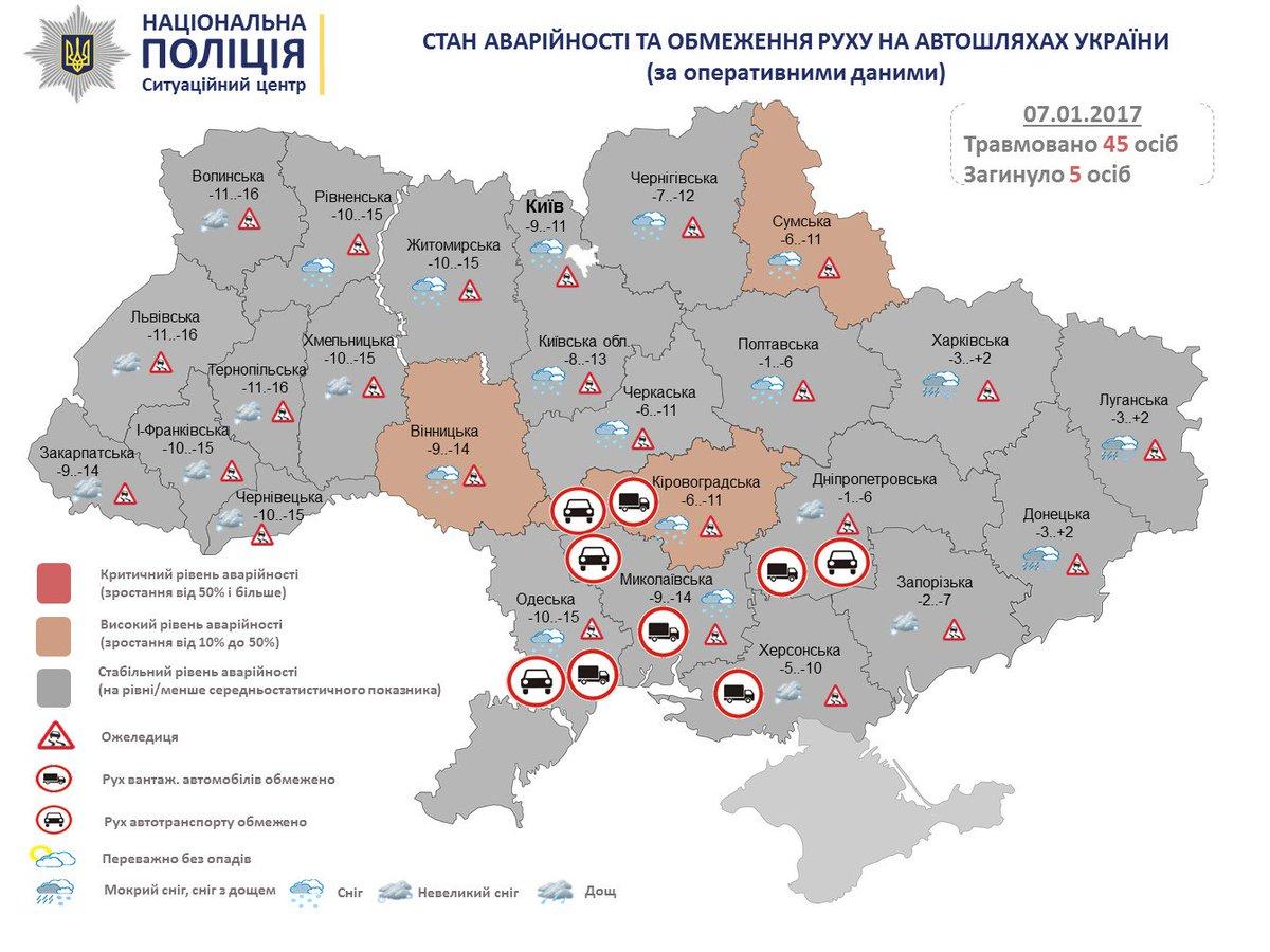 Погодные условия в Украине начнут улучшаться уже с понедельника, - ГСЧС - Цензор.НЕТ 7386