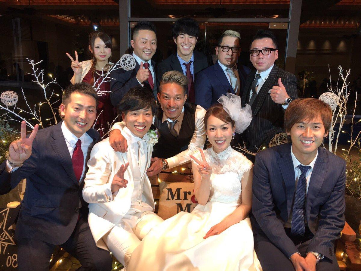 新太君、桂子さん、おめでとうございます^ ^  #sk0108wedding https://t.co/g4FXyY0s2K