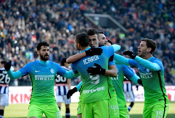 VIDEO UDINESE-INTER risultato esatto 1-2, doppietta di Perisic in rimonta
