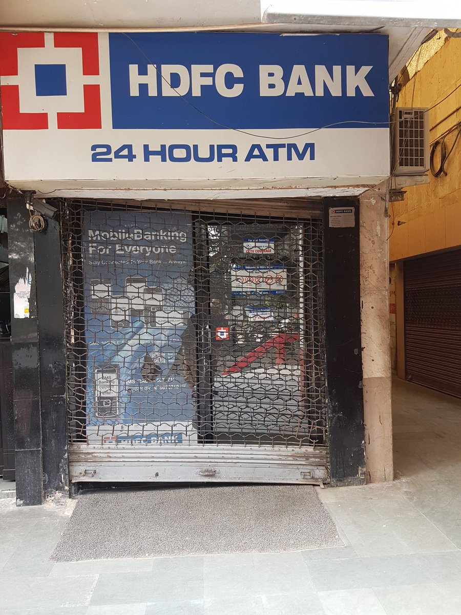 What's happening? Every single ATM I have been to in Gurgaon today, over 20 - each one is SHUT. Worse than Nov? https://t.co/eyAvSA2tb1