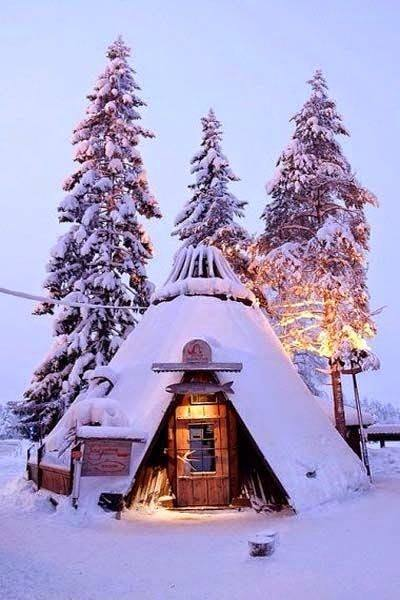 You, me &amp; this cabin  #Lapland #Finland <br>http://pic.twitter.com/2Uw7eP2bRO