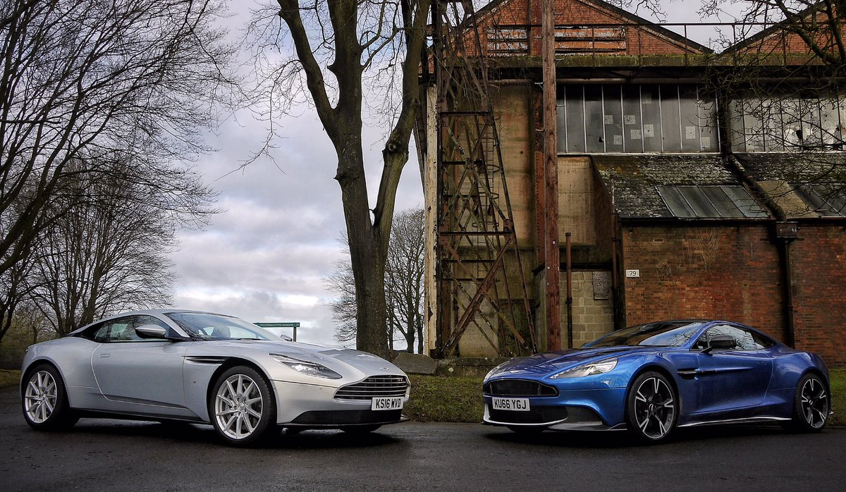 Bringing the @AstonMartin DB11 and the sublime Ming blue Vanquish S to...