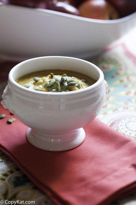 Make your own Panera Bread Autumn Squash Soup
