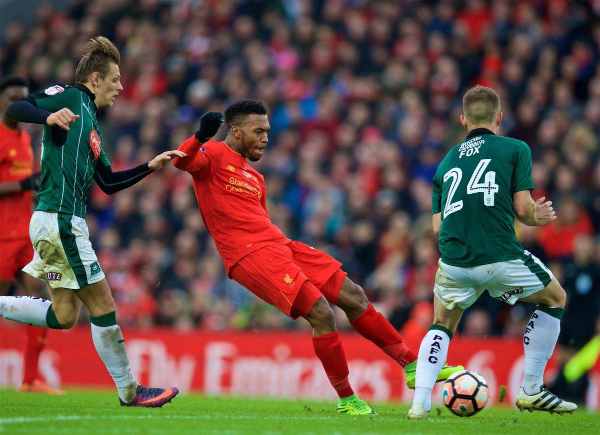 Lances de Liverpool 0x0 Plymouth - FA Cup 16-17