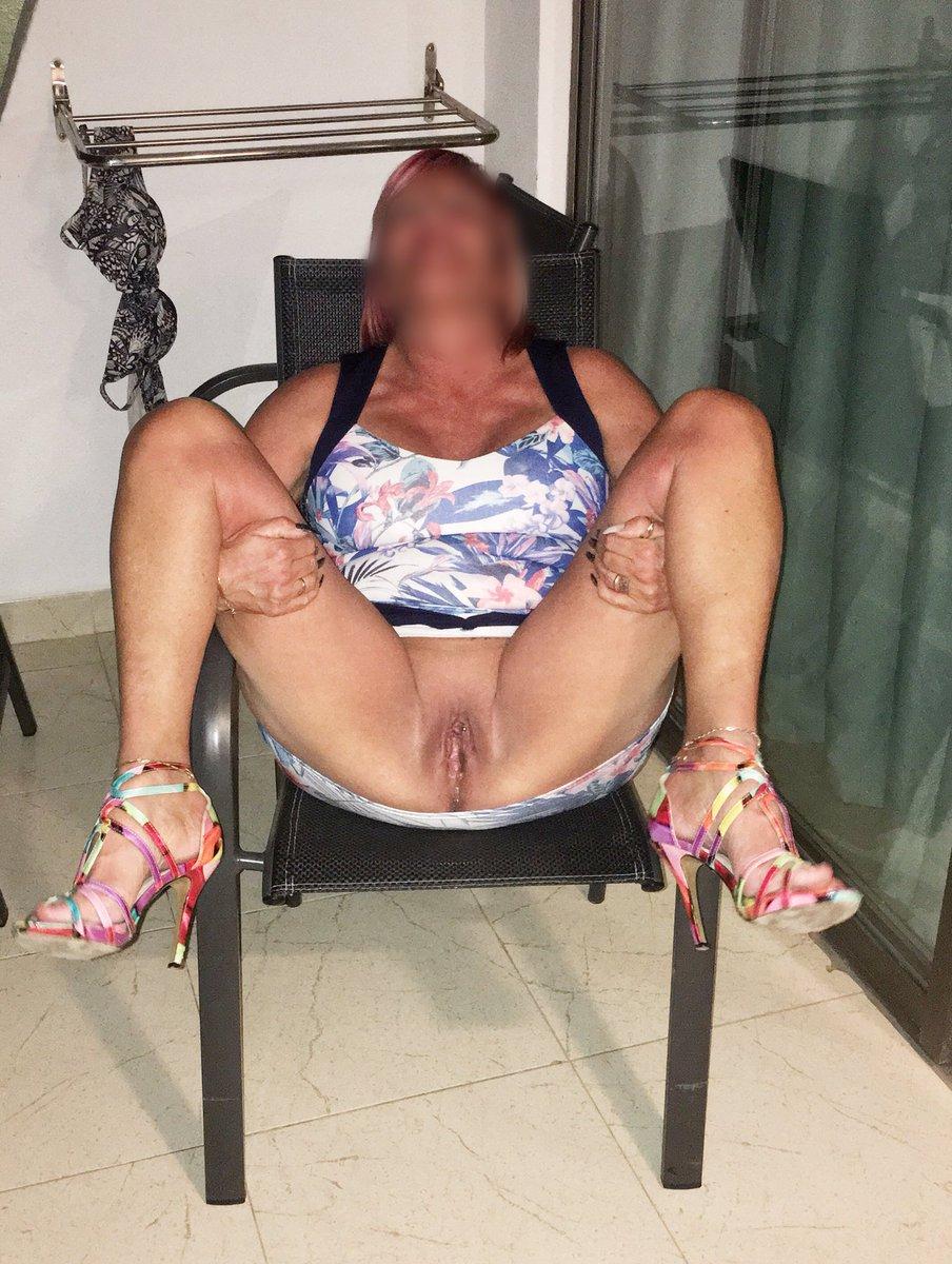 Mature women with big fake tits
