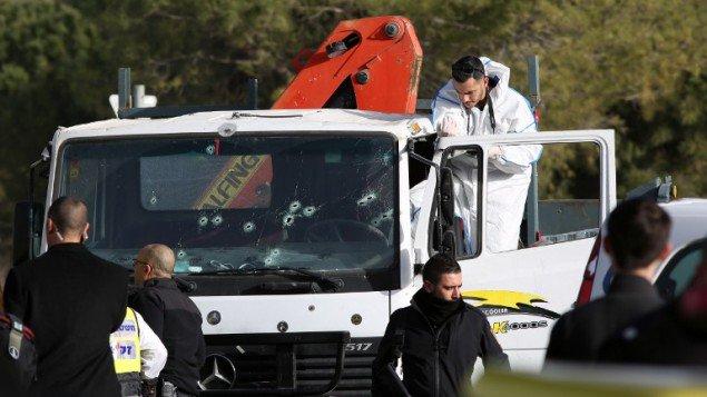Fadi al-Qanbar - Muslim terrorist killed 4 #ArmonHanatziv Jerusalem