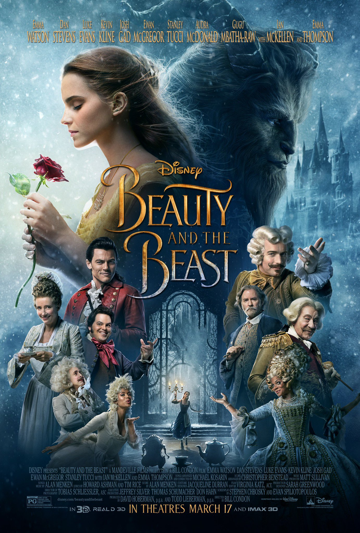 New Beauty and the Beast Poster Revealed