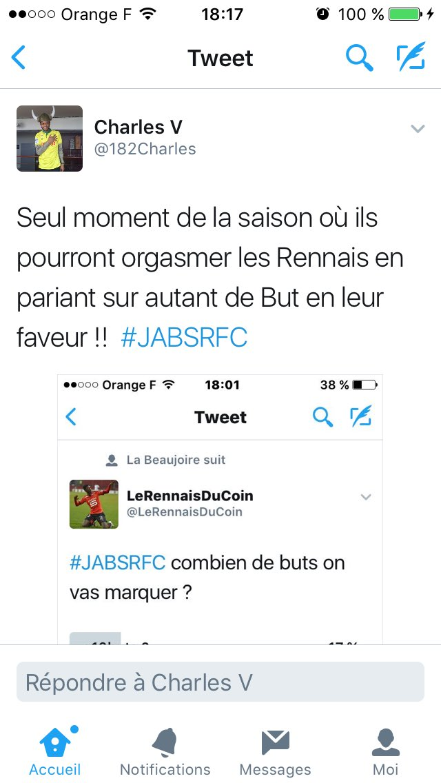 Il n'y a pas que Charbonnier qui rage ^^ #livesro #JABSRFC https://t.co/lkjOLSLWSL