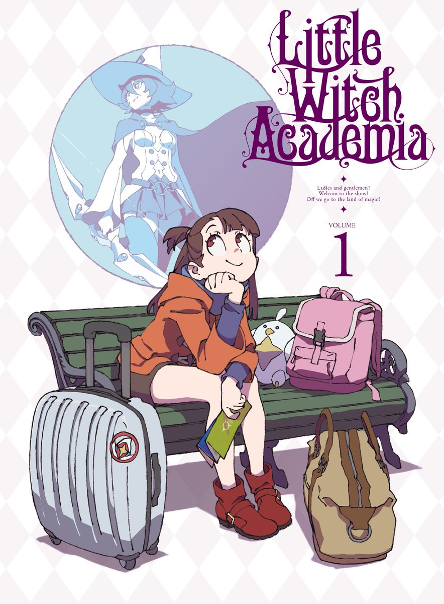 Jp Bd Dvd Little Witch Academia Tv V1 9 Volumes 25 Eps Cover Art Http Tv Littlewitchacademia Jp Bddvd Anime
