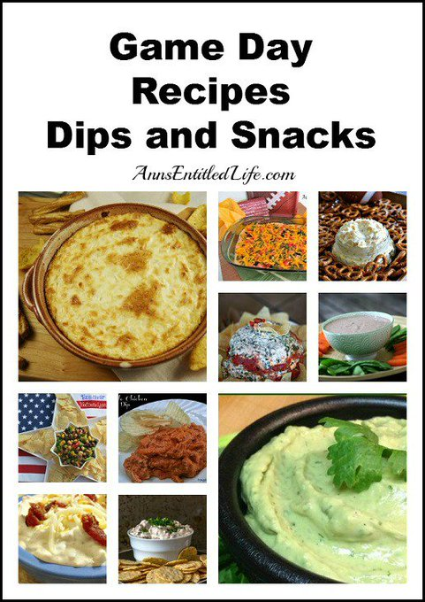 Game Day Recipes – Dips and Snacks