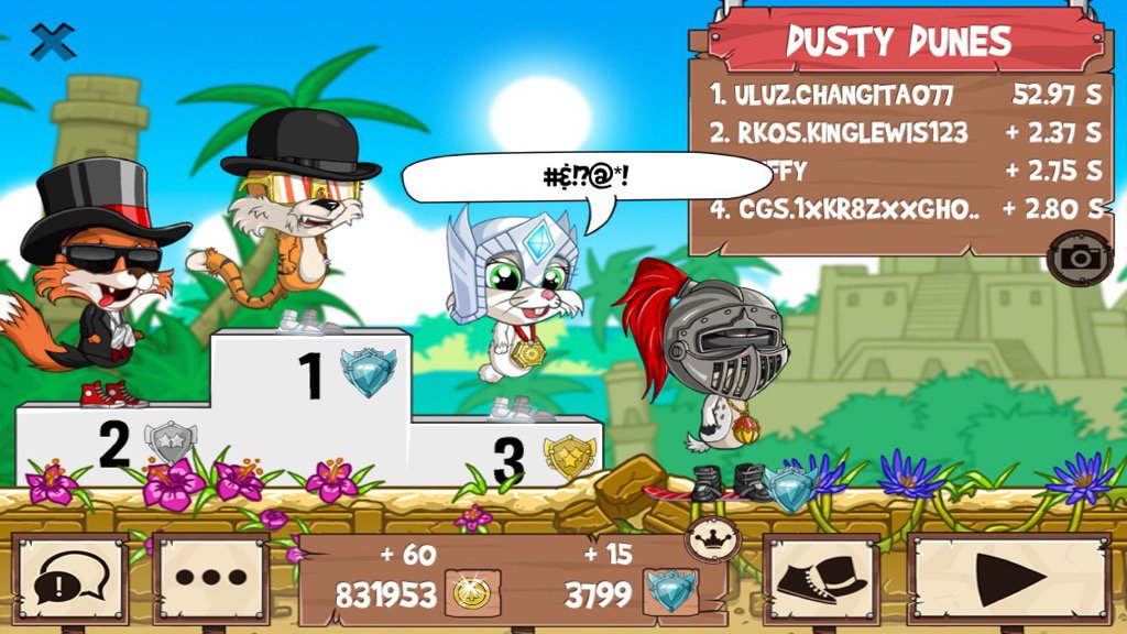 Get on my level, son! #funrun2 #kinglewis123 #PUFFY #1xKR8ZxxGh05txx<br>http://pic.twitter.com/l4DIFb7OoL